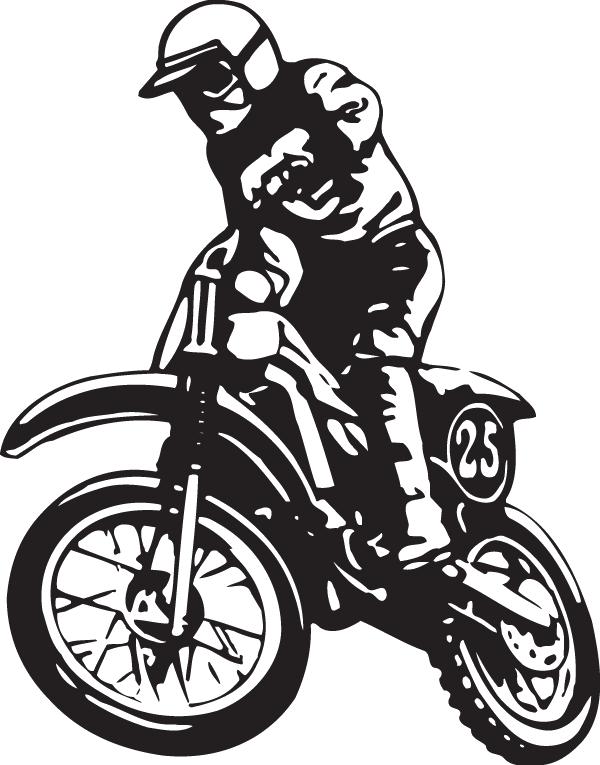 gambar stiker balap motor