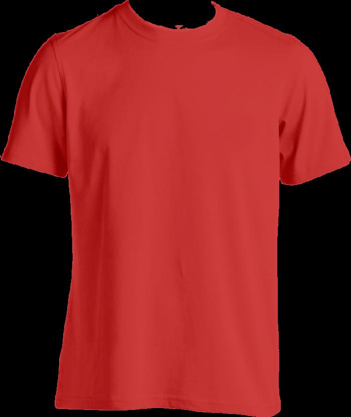 mentahan kaos polos merah PNG