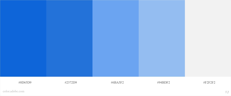 Kode Warna Biru Photoshop dan CorelDraw 6