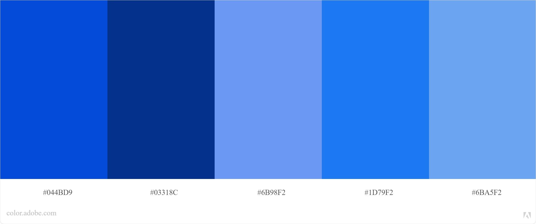 Kode Warna Biru Photoshop dan CorelDraw 2