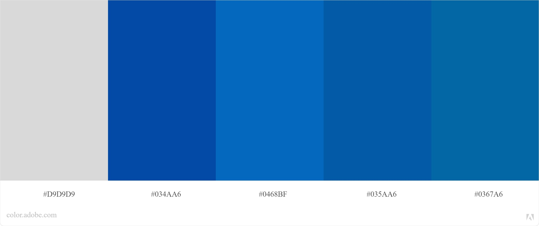 Kode Warna Biru Photoshop dan CorelDraw 3
