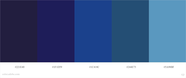 Kode Warna Biru Photoshop dan CorelDraw 7