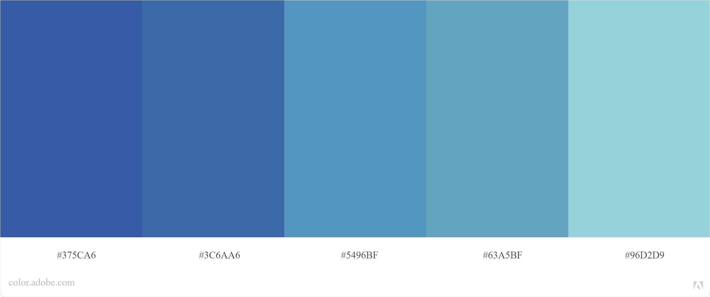 Kode Warna Biru Photoshop dan CorelDraw 5