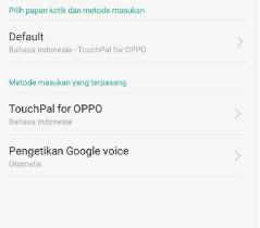Cara Reset Keyboard HP Oppo