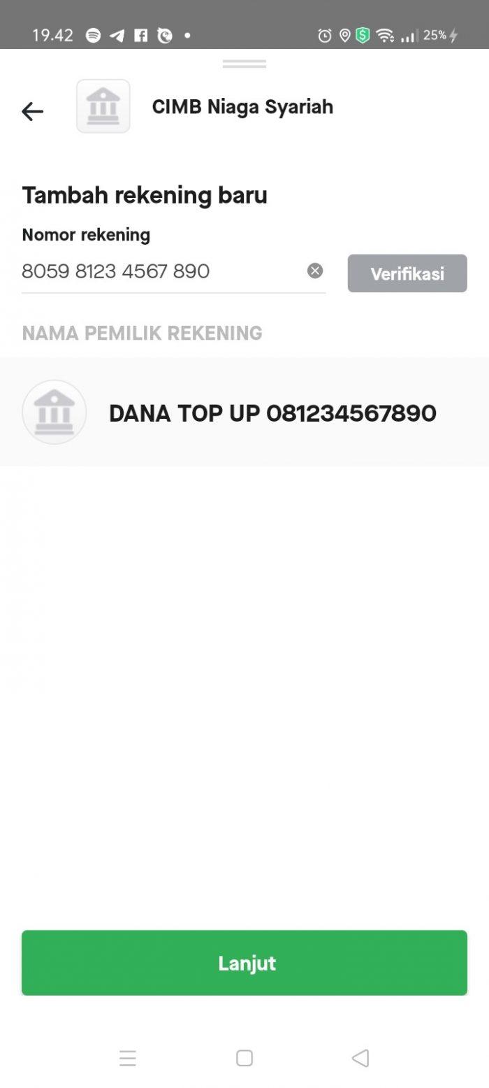 Cara Transfer Saldo Dana ke GoPay 3