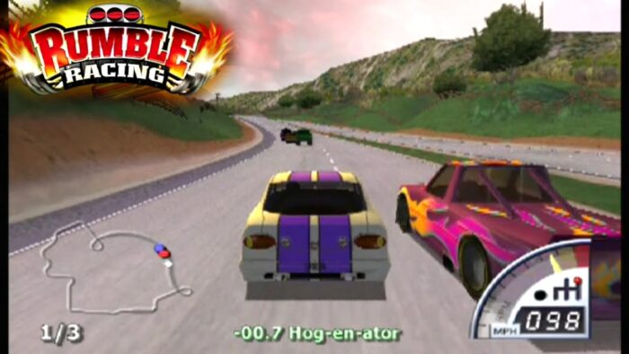 Cheat Rumble Racing PS2 Lengkap